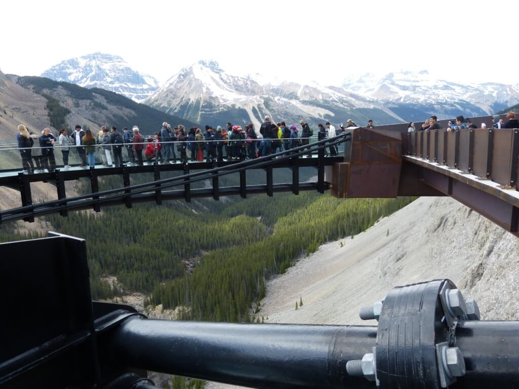 Glacier Skywalk Icefields Parkway Banff The Good The