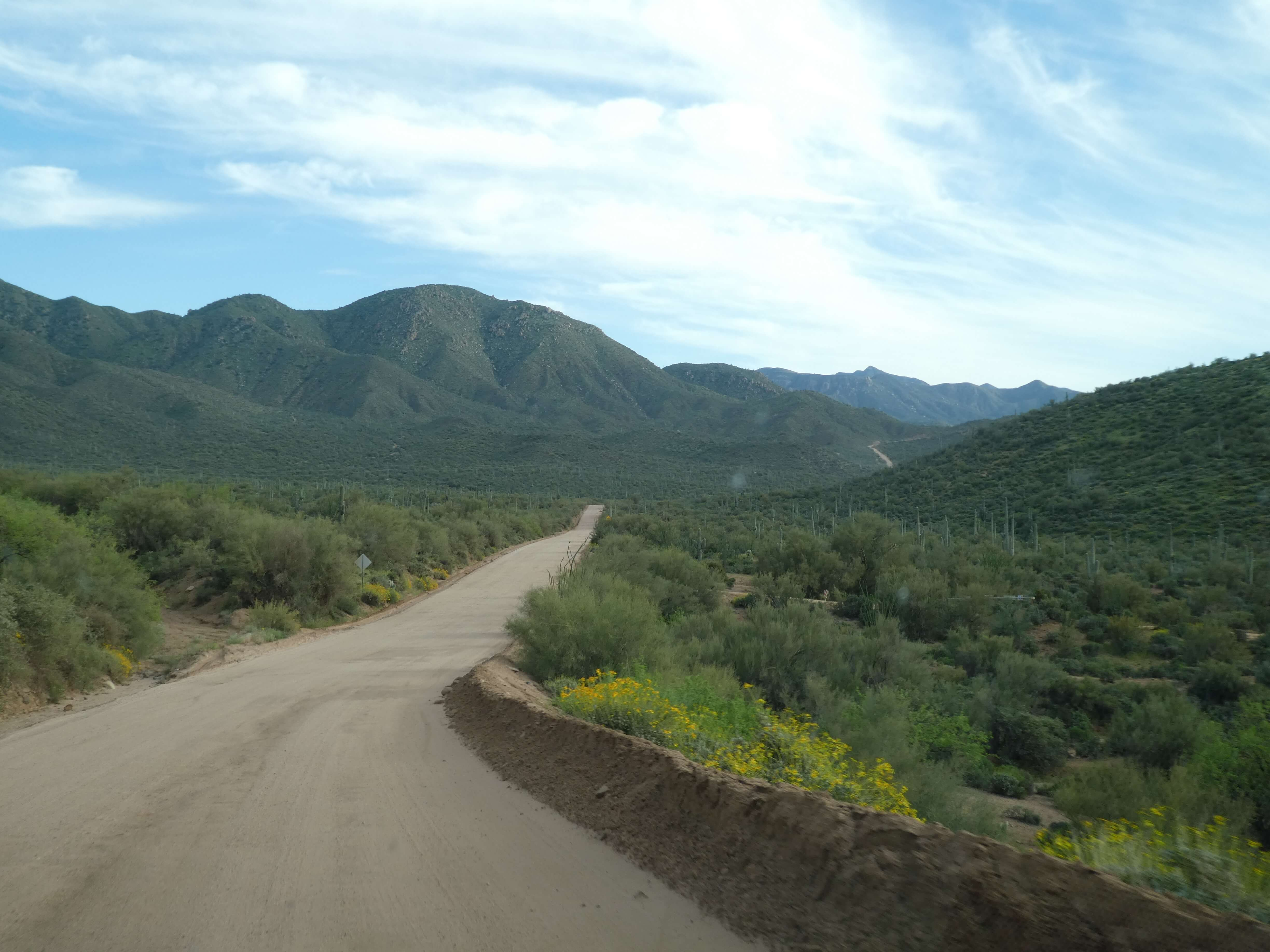 Apache Trail Scenic Drive The Good The Bad And The Rv